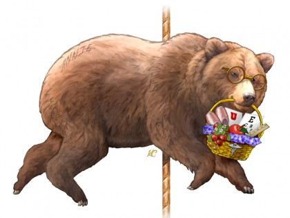 Grizzly Berry, the Bear